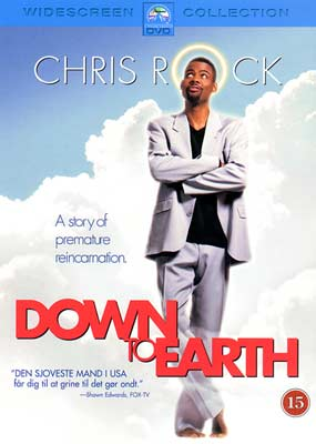 Down to Earth (Chris Rock)  (DVD) - Klik her for at se billedet i stor størrelse.