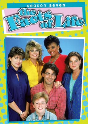 Facts of Life, The: Season 7  (DVD) - Klik her for at se billedet i stor størrelse.