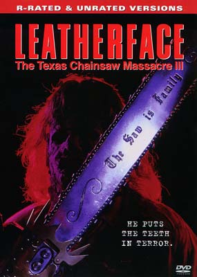 Leatherface: The Texas Chainsaw Massacre III (Unrated) (DVD) - Klik her for at se billedet i stor størrelse.