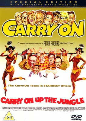 Carry On Up the Jungle  (DVD) - Klik her for at se billedet i stor størrelse.
