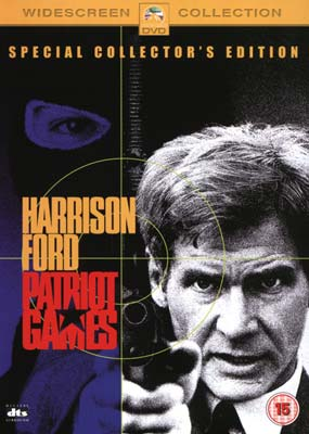 Patriot Games (Collector's Edition) (DVD) - Klik her for at se billedet i stor størrelse.