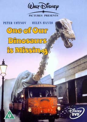 One of Our Dinosaurs is Missing  (DVD) - Klik her for at se billedet i stor st�rrelse.