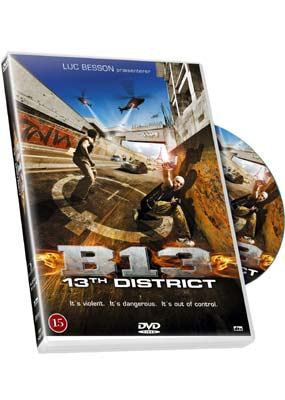 B13: 13th District  (DVD) - Klik her for at se billedet i stor st�rrelse.