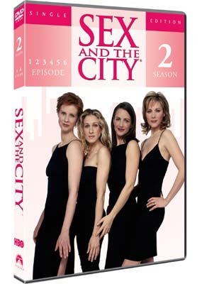 Sex and the City: Sæson 2, vol. 1  (DVD) - Klik her for at se billedet i stor størrelse.
