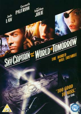 Sky Captain and the World of  Tomorrow  (DVD) - Klik her for at se billedet i stor størrelse.