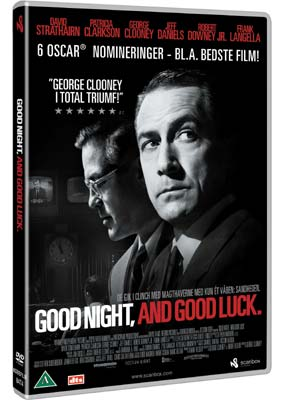 Good Night, and Good    Luck  (DVD) - Klik her for at se billedet i stor størrelse.