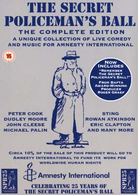 Secret Policeman's Ball, The:   The Complete Edition (5-disc) (DVD) - Klik her for at se billedet i stor størrelse.