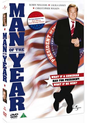 Man of the Year (Robin    Williams)  (DVD) - Klik her for at se billedet i stor størrelse.
