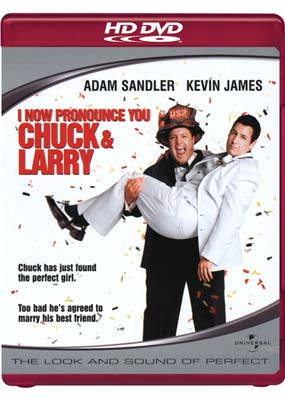 I Now Pronounce You Chuck and Larry (HD-DVD) (HD) - Klik her for at se billedet i stor størrelse.