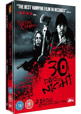 30 Days of  Night (with 48-page Graphic Novel) (2-disc) (DVD) - Klik her for at se billedet i stor størrelse.