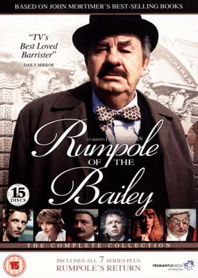 Rumpole  of the  Bailey: Complete Series (15-disc) (DVD) - Klik her for at se billedet i stor st�rrelse.