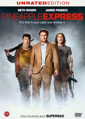 Pineapple Express:  Unrated  Edition  (DVD) - Klik her for at se billedet i stor størrelse.