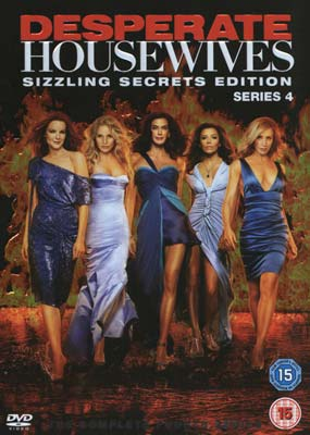 Desperate Housewives:  Season  4 (5-disc) (DVD) - Klik her for at se billedet i stor størrelse.