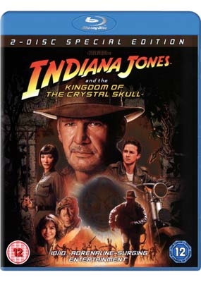 Indiana Jones and the Kingdom of the Crystal Skull (Blu-ray) (BD) - Klik her for at se billedet i stor størrelse.
