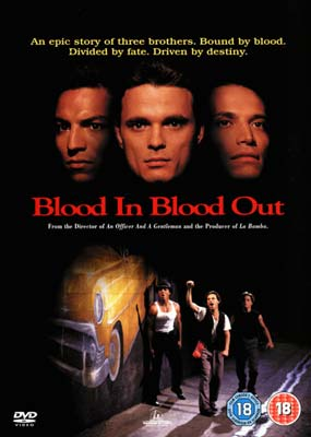 Blood In... Blood Out (Theatrical Version)  (DVD) - Klik her for at se billedet i stor størrelse.