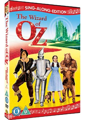 Wizard of Oz,   The:    Sing-Along-Edition  (DVD) - Klik her for at se billedet i stor størrelse.