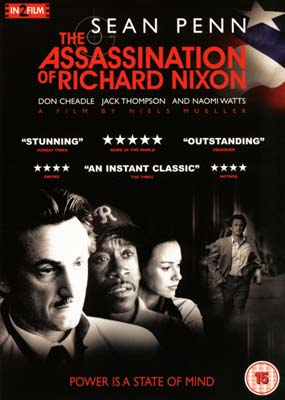 Assassination of Richard Nixon, The  (DVD) - Klik her for at se billedet i stor størrelse.