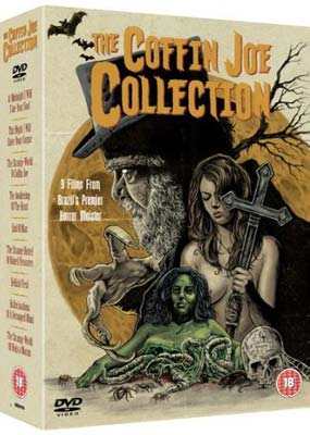 Coffin Joe Collection, The (9 film) (DVD) - Klik her for at se billedet i stor størrelse.
