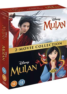 Mulan: 2-Movie Collection (Blu-ray) (BD) - Klik her for at se billedet i stor størrelse.