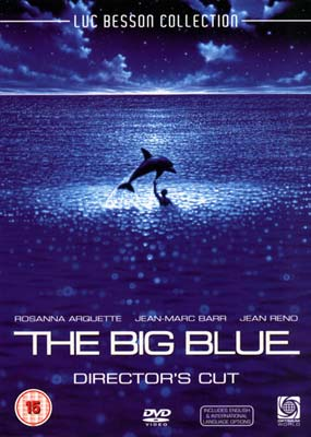Big Blue, The: Director's   Cut  (DVD) - Klik her for at se billedet i stor størrelse.