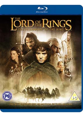 Lord of the Rings, The: The Fellowship of the Ring (Blu-ray) (BD) - Klik her for at se billedet i stor størrelse.