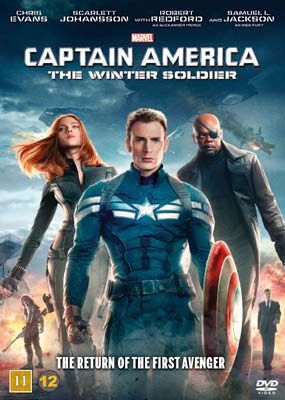 Captain America: The Winter Soldier  (DVD) - Klik her for at se billedet i stor størrelse.