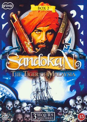 Sandokan - The Tiger of Malaysia: Box 2 (2-disc) (DVD) - Klik her for at se billedet i stor størrelse.