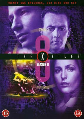 X-Files, The:          Season 8 (6-disc) (DVD) - Klik her for at se billedet i stor størrelse.