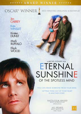 Eternal Sunshine of the  Spotless      Mind  (DVD) - Klik her for at se billedet i stor størrelse.