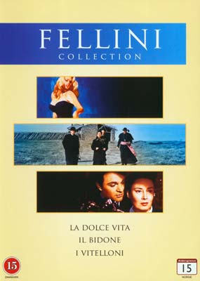 Fellini Collection (3 film) (DVD) - Klik her for at se billedet i stor størrelse.