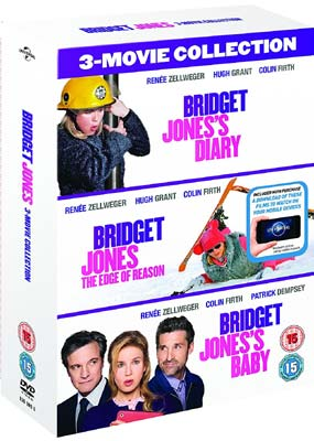 Bridget Jones: 3-Film Collection (3-pack) (DVD) - Klik her for at se billedet i stor størrelse.