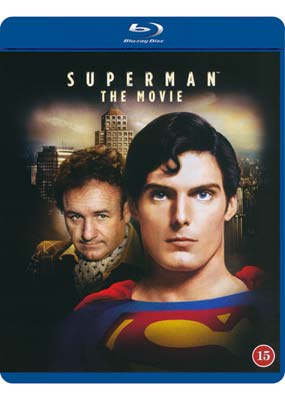 Superman: The  Movie   (Theatrical  Version) (Blu-ray) (BD) - Klik her for at se billedet i stor størrelse.