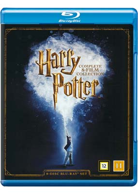 Harry Potter:   Complete  Collection (8-disc) (Blu-ray) (BD) - Klik her for at se billedet i stor størrelse.