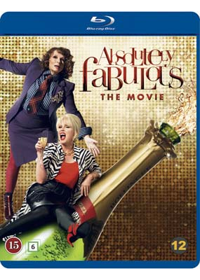 Absolutely Fabulous: The Movie (Blu-ray) (BD) - Klik her for at se billedet i stor størrelse.