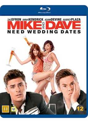 Mike and Dave Need Wedding   Dates (Blu-ray) (BD) - Klik her for at se billedet i stor størrelse.