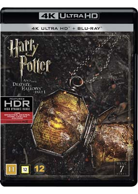 Harry Potter and the Deathly Hallows, Part 1 (4K Ultra HD) (BD) - Klik her for at se billedet i stor størrelse.