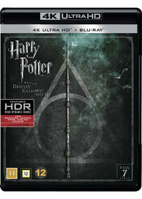 Harry Potter and the Deathly Hallows, Part 2 (4K Ultra HD) (BD) - Klik her for at se billedet i stor størrelse.