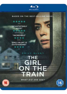 Girl on the Train, The (Emily Blunt) (Blu-ray) (BD) - Klik her for at se billedet i stor størrelse.