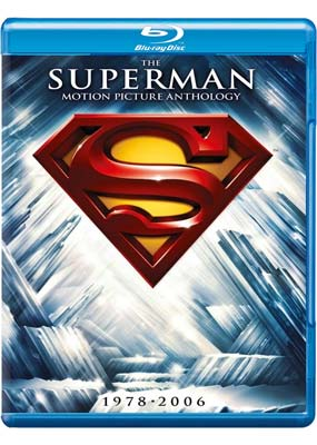 Superman: The Motion Picture Anthology  (5-disc) (Blu-ray) (BD) - Klik her for at se billedet i stor størrelse.