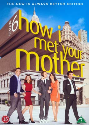 How I Met Your Mother:   Season    6 (3-disc) (DVD) - Klik her for at se billedet i stor størrelse.