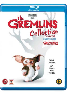 Gremlins  Collection, The (2 film) (Blu-ray) (BD) - Klik her for at se billedet i stor størrelse.