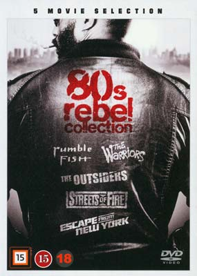 80s Rebel Collection (5 film) (DVD) - Klik her for at se billedet i stor størrelse.
