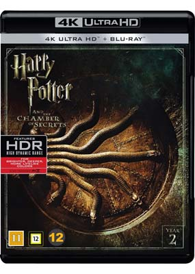Harry Potter and the Chamber of Secrets (4K Ultra HD) (BD) - Klik her for at se billedet i stor størrelse.
