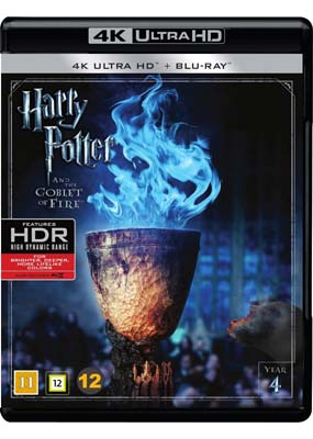 Harry Potter and the Goblet of Fire (4K Ultra HD) (BD) - Klik her for at se billedet i stor størrelse.