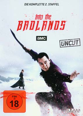 Into the Badlands: Season 2 (tysk omslag) (3-disc) (DVD) - Klik her for at se billedet i stor størrelse.