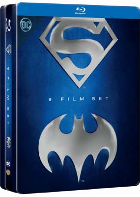 Superman & Batman Collection (9-disc) (Blu-ray) (BD) - Klik her for at se billedet i stor størrelse.
