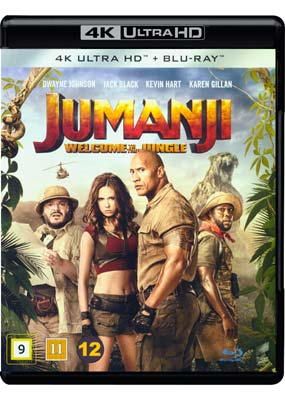 Jumanji: Welcome to the Jungle (4K UHD) (UHD) - Klik her for at se billedet i stor størrelse.