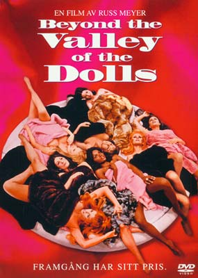Beyond the Valley of the Dolls (svensk omslag) (DVD) - Klik her for at se billedet i stor størrelse.