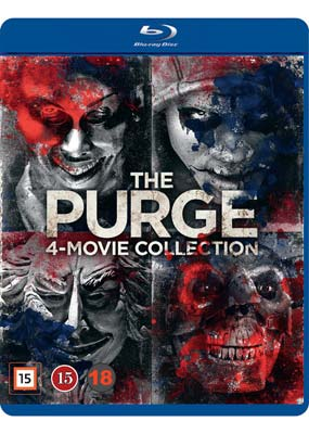 Purge, The: 4-Movie Collection (Blu-ray) (BD) - Klik her for at se billedet i stor størrelse.