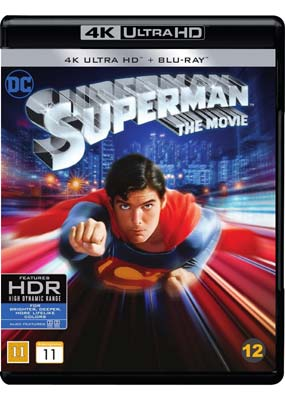 Superman: The Movie (4K UHD) (UHD) - Klik her for at se billedet i stor størrelse.